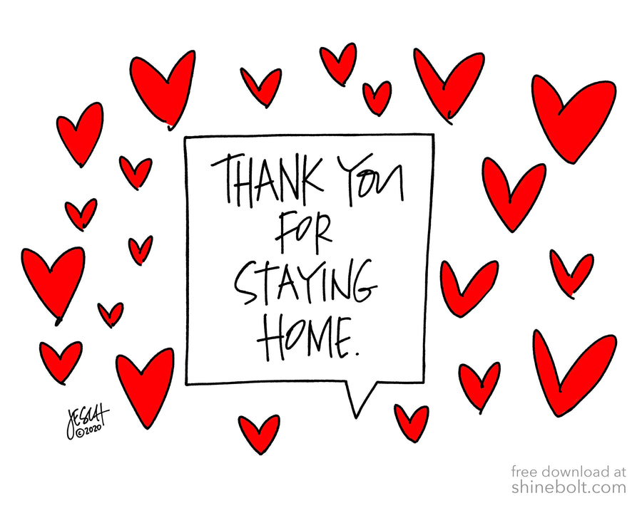Thank You for Staying Home: Free Download