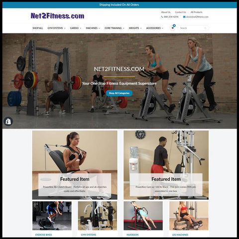 Net2Fitness-website