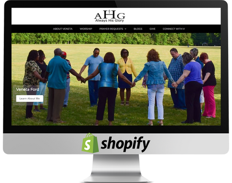 always his glory shopify design