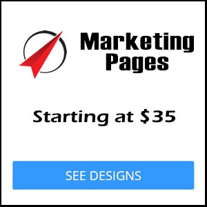 marketing page pricing