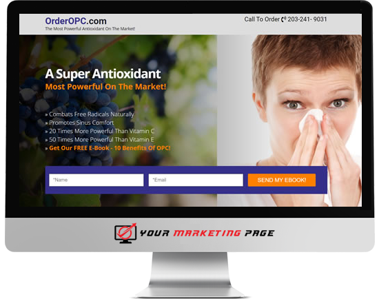 order opc marketing page