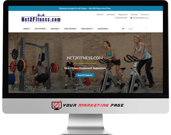 fitness shopify store