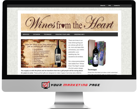 wordpress wines from the heart