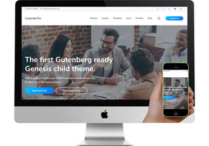 Corporate Pro WordPress Website
