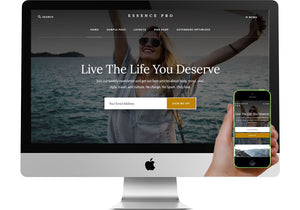 Essence Pro WordPress Website Blog