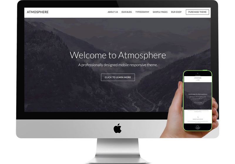 Atmosphere Pro WordPress Website