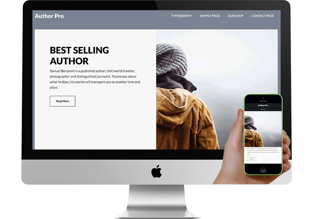 Author Pro WordPress Website