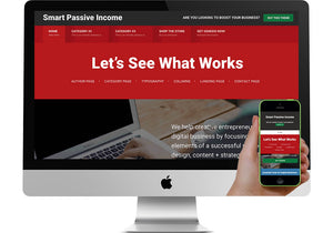 Passive Income WordPress Website