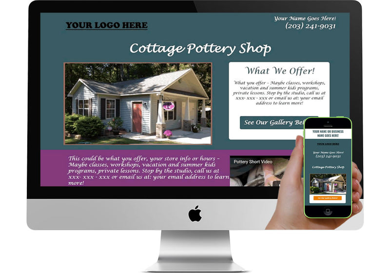 Pottery Marketing Page