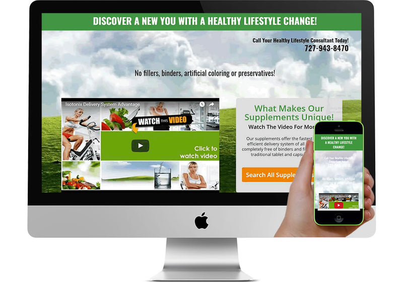 Wellness Marketing Page