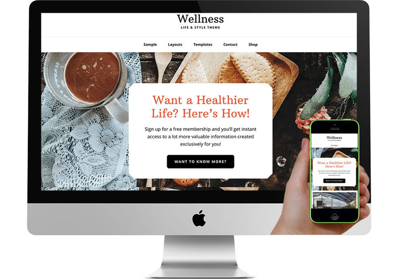Wellness WordPress Website