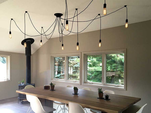 9 Pendant Swag Chandelier  light fixture
