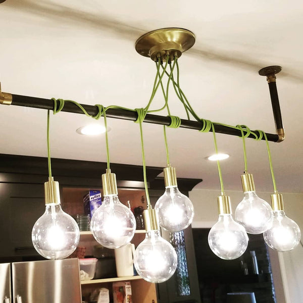 Wrap Chandelier: Design Your Own 7 Pendant