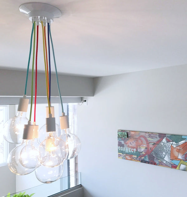 Cluster Chandelier - Grape: Design Your Own 7 Pendant