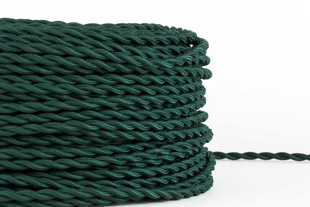 Pine Twisted Fabric Cord by the Foot