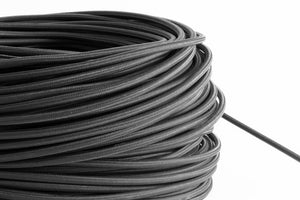 Graphite Fabric Cord by the Foot