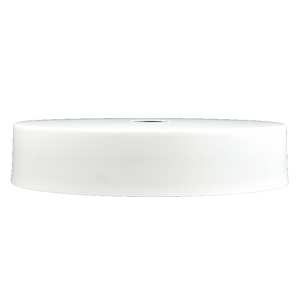 "White 12"" Drum Shade"