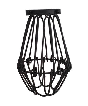 Back Hinge Light Bulb Cage Hangout Lighting