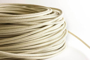 Beige Fabric Cord by the Foot Hangout Lighting