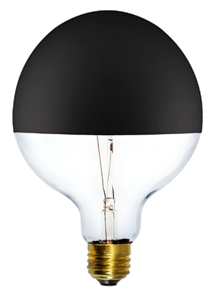 "Bulb: LED Black Dipped 5"" Globe"