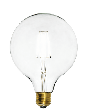 "Bulb: LED - Clear 5"" Globe Hangout Lighting"