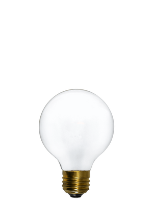 "Bulb: LED - White 3"" Globe Hangout Lighting"