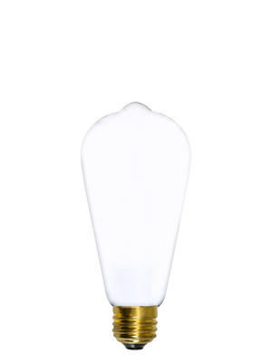 Bulb: LED - White Edison Hangout Lighting