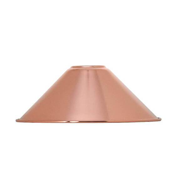 Copper Cone Shade Hangout Lighting