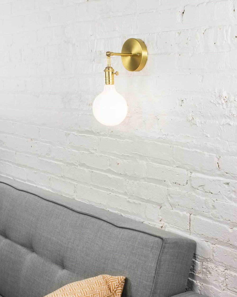 Hinge Wall Sconce: Design Your Own Hangout Lighting
