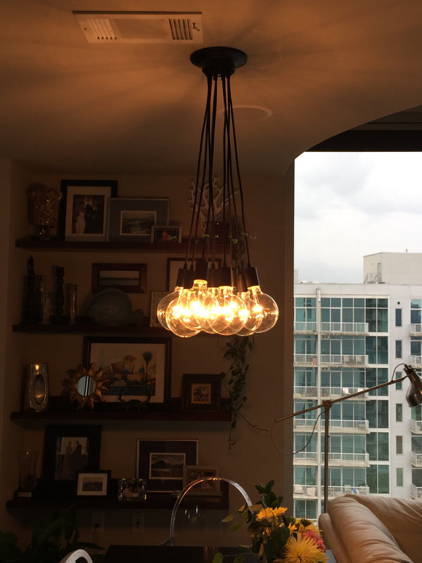 Cluster Chandelier - Even: Design Your Own 9 Pendant