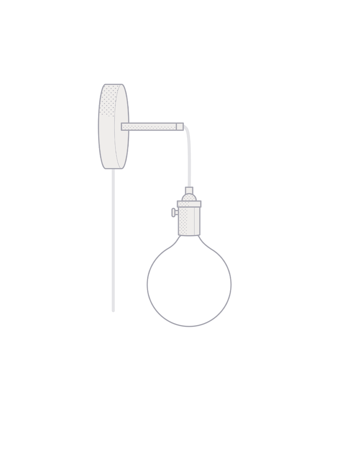 Plug-in Adjustable Wall Sconce: Design Your Own Hangout Lighting