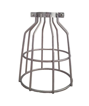 Steel Round Light Bulb Cage Hangout Lighting