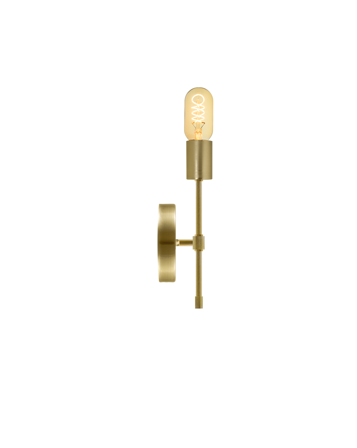 Torch Wall Sconce: Brass Hangout Lighting