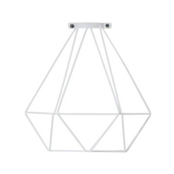 White Diamond Cage Hangout Lighting