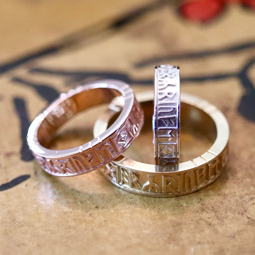 Anglo-Saxon Runic Rings