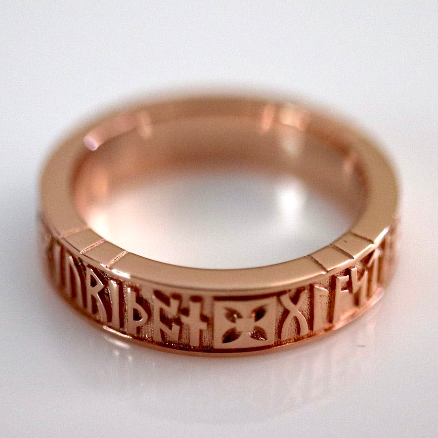 Bramham Moor Ring - Gold-Plated Brass