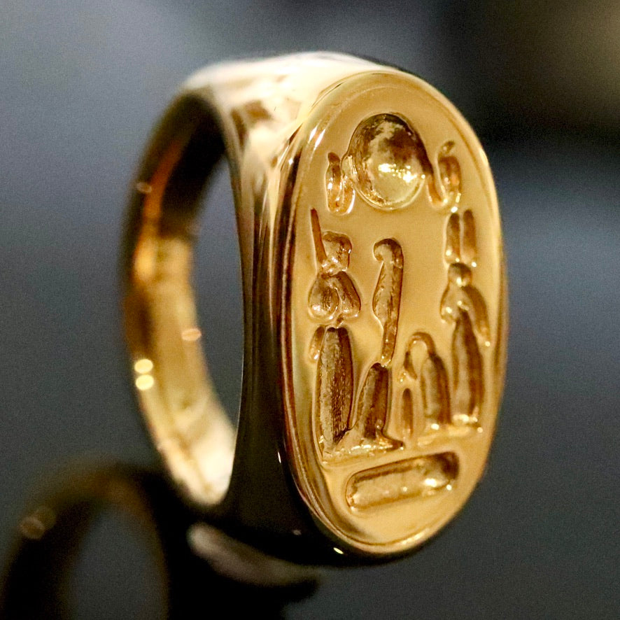 Nefertiti's Ring - Gold