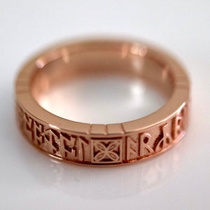 Bramham Moor Ring - Gold