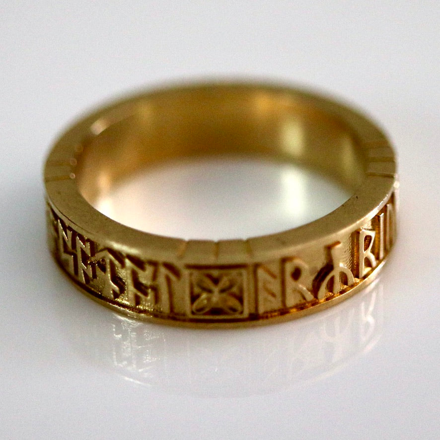 Bramham Moor Ring - Brass