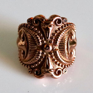 Splendor of the Celts Ring - Gold-Plated