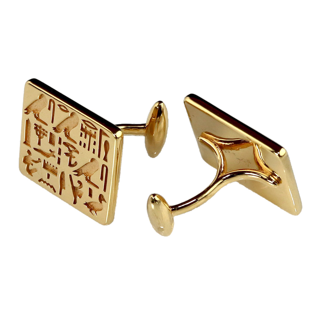 Cufflinks of Priest Sienamun - Gold-Plated