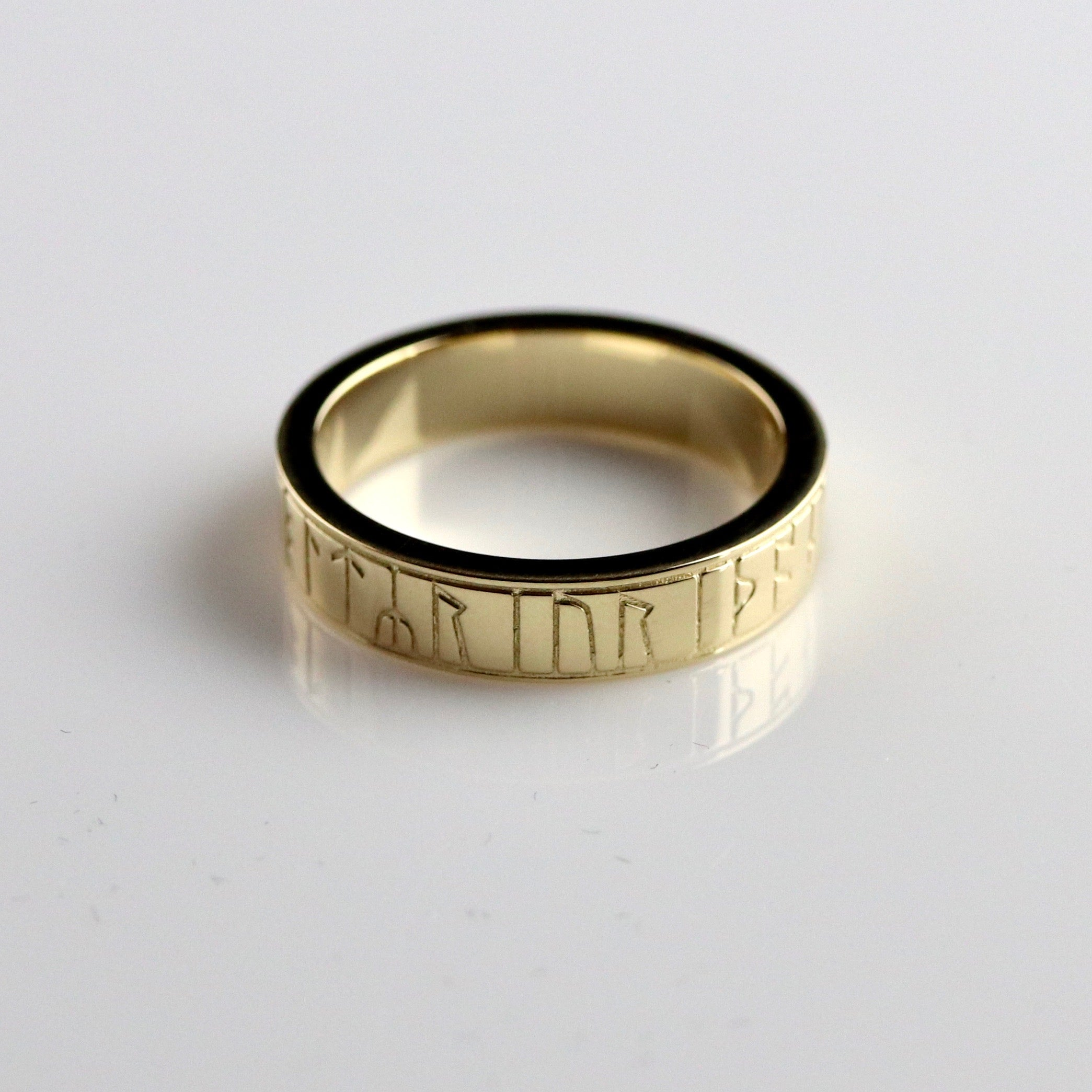 Kingmoor Ring - Gold-Plated Brass