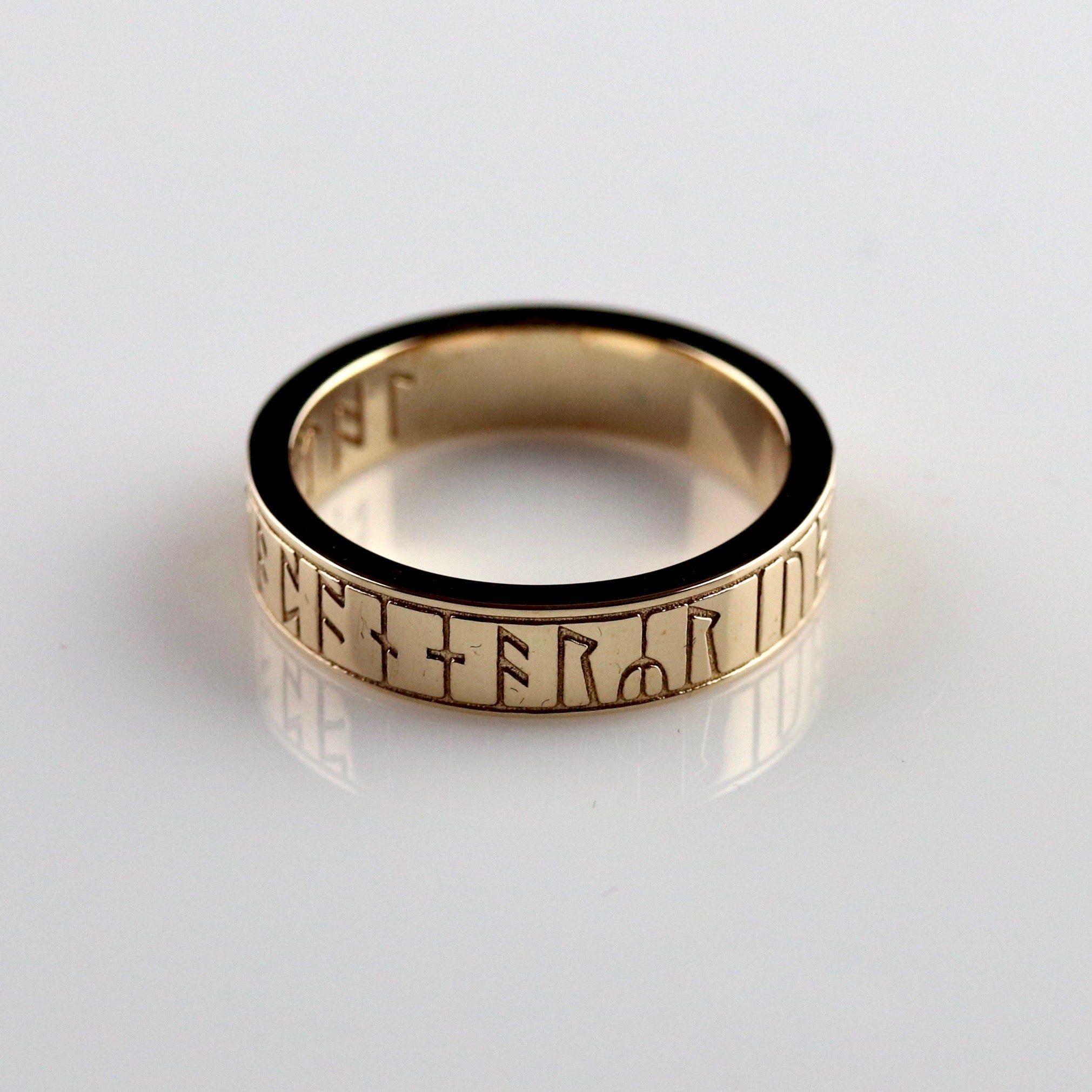 Kingmoor Ring - Brass