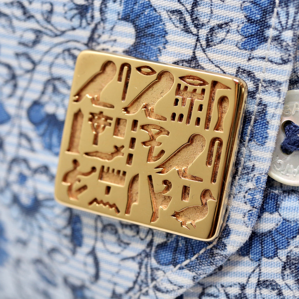 Cufflinks of Priest Sienamun - Gold