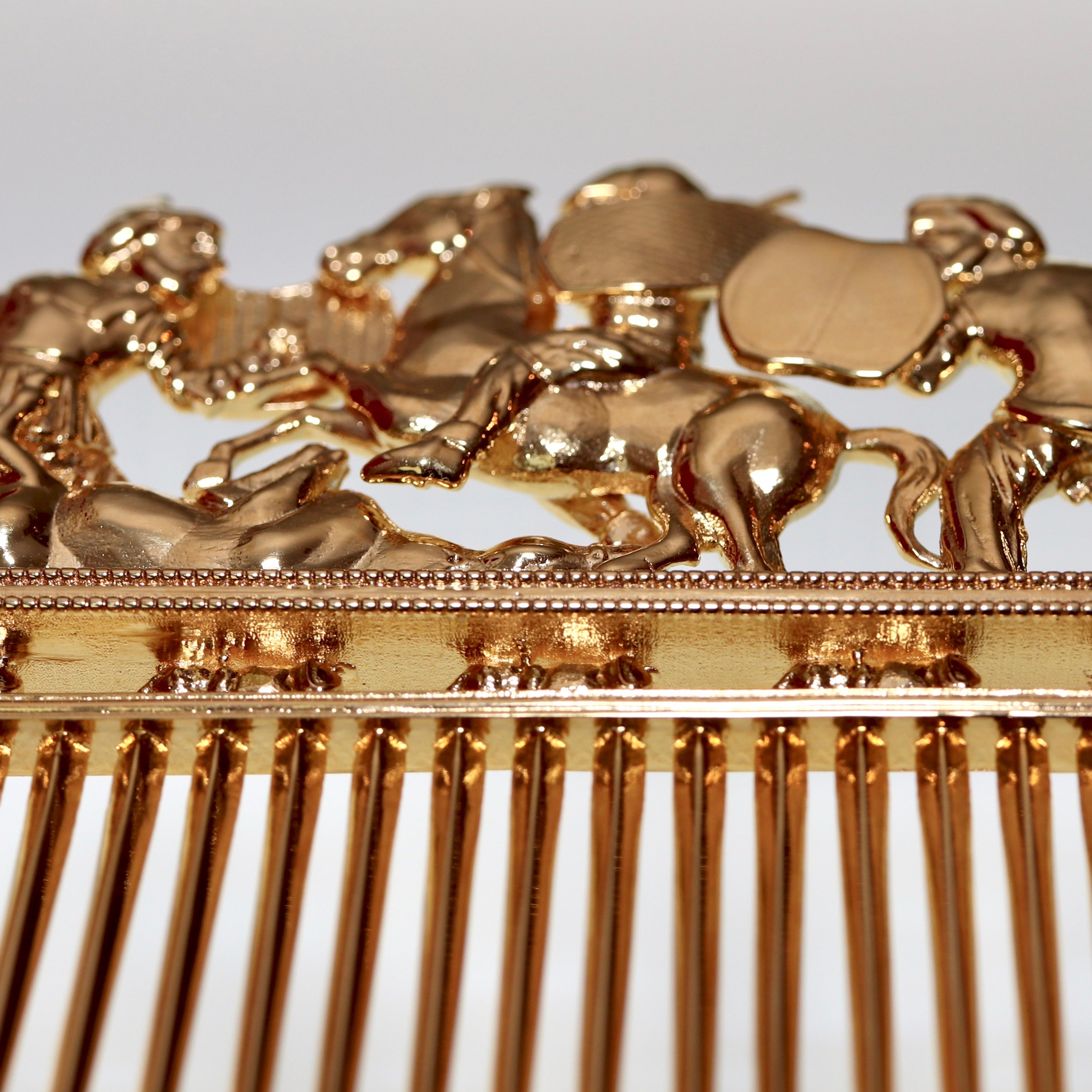 Scythian Comb - Gold-Plated