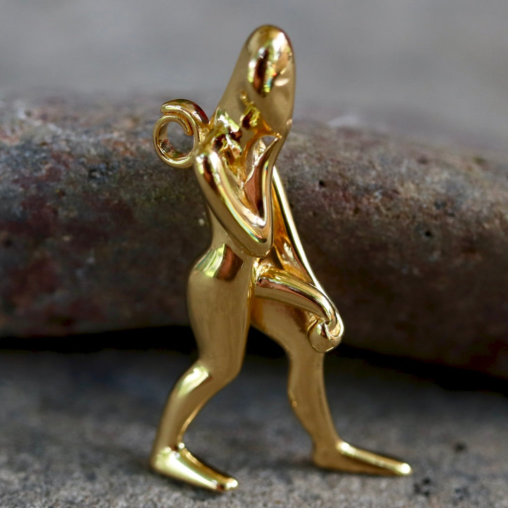 Pendant Depicting an Ithyphallic God