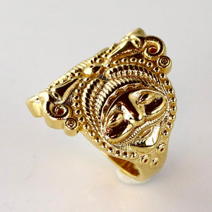 Splendor of the Celts Ring - Gold