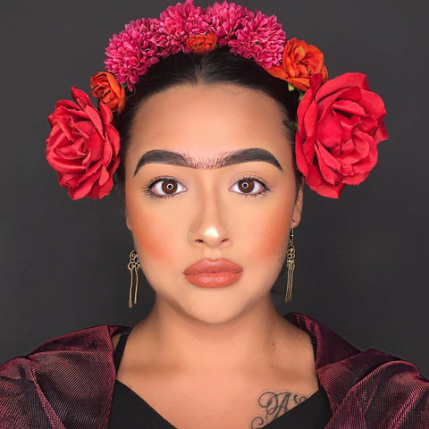 halloween makeup frida