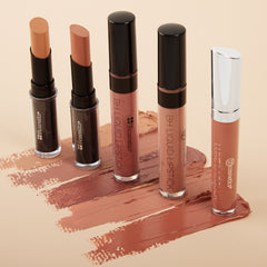 BH Lip Set - Naughty Nudes - Lips Swatch Best Lipstick Color