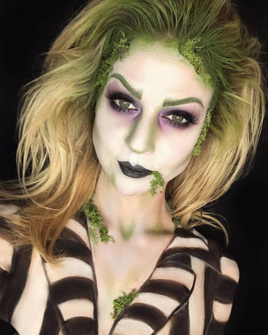 halloween makeup beetlejuice